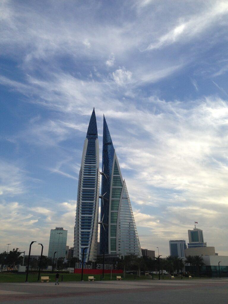 Manama - capital of  Bahrain