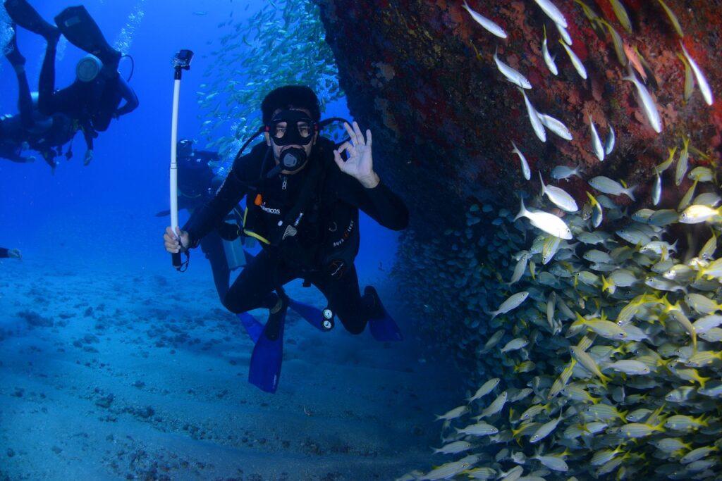 Scuba diving in Cambodia's