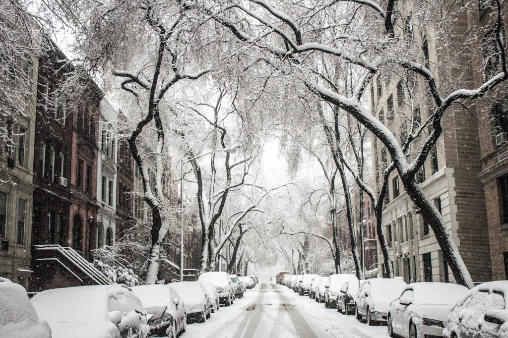 Winter in usa
